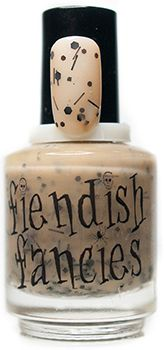 F.1-03: This is My Boomstick ~ Curses & Creatures collection by Fiendish Fancies ~ 5-Free, vegan, cruelty-free Nail Lacquer hand-poured in Canada