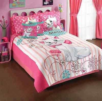 Disney Aristocat Marie Girls Room Bedding Comforter Set