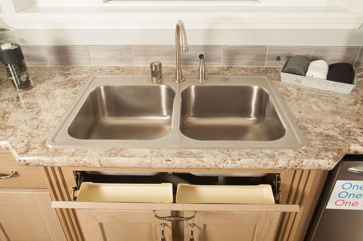 Bianco Romano Wilsonart laminate countertop - Pinecrest Elite PG900A - Pinecrest Modular Ranch