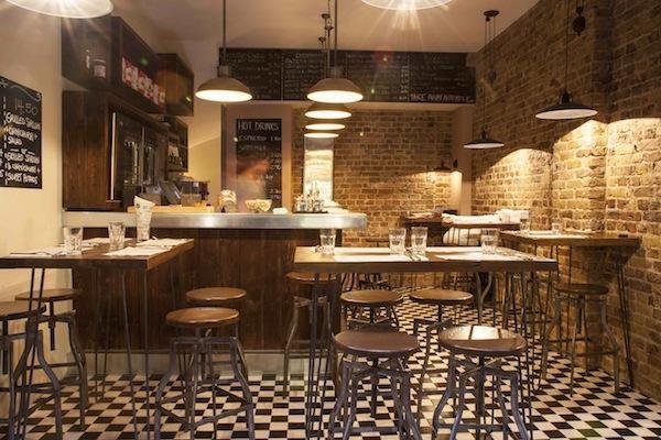 дизайн маленького кафе - фото #4
