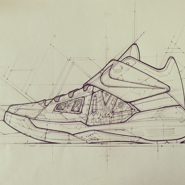 If Syd Mead worked for Nike...