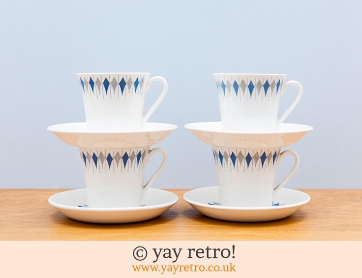 Figgjo Flint Cups & Saucers (£25.00)