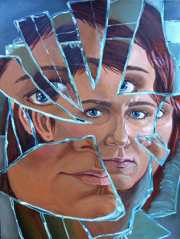 Self Portrait 08 by ~VerlVerl on deviantART