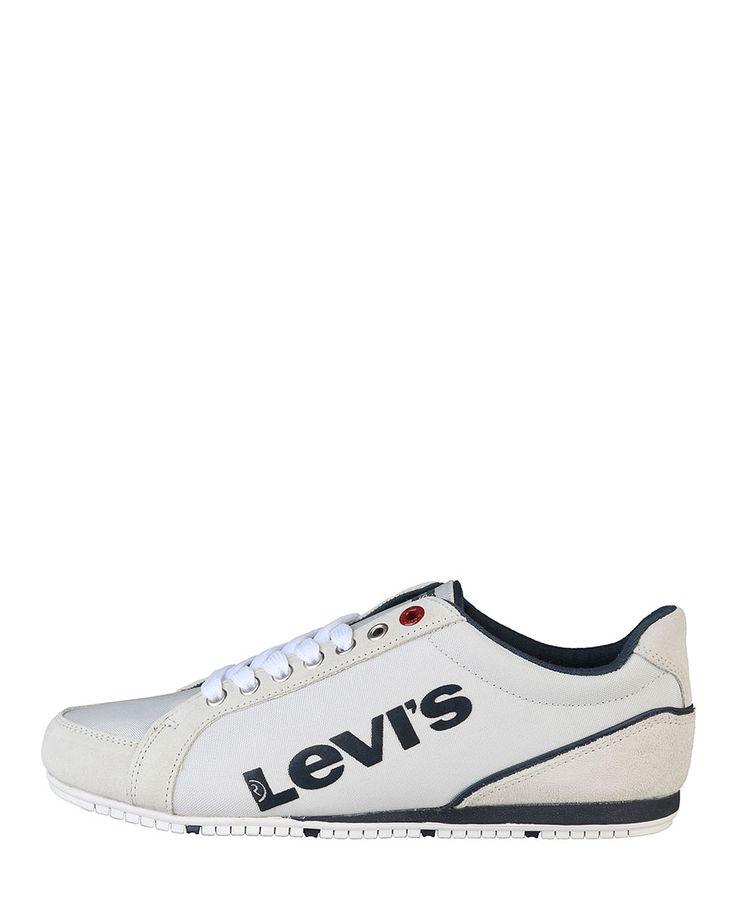 Levi's scarpe - sneakers uomo - tomaia: pelle e tessuto - interno: tessuto - suola: gomma - Sneaker uomo Grigio