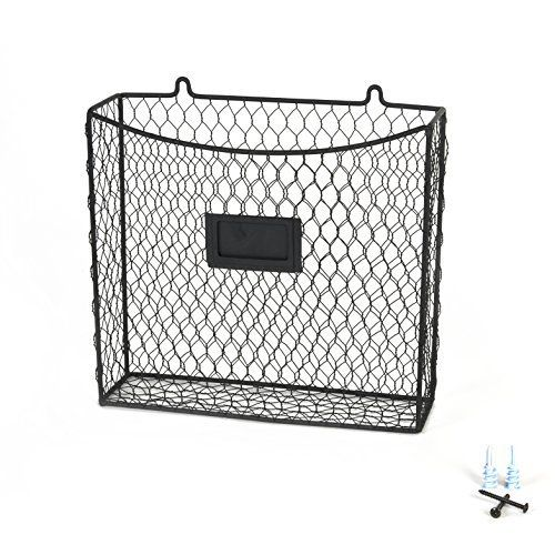 +100 Small Kitchen Ideas to save space.     Wire wall mounted storagebasket solutions for tiny kitchen spaces.    Kitchen Organization Ideas for Small Spaces Small kitchen ideas. Space saving ideas for small kitchen. Make the most out of your space.    #kitchen #tinykitchen #spacesaving #hack #declutter #enjoy #amazon    Wall-Mount-Country-Style-Chicken-Wire-Basket-Kitchen-Utensil-Organizer-Storage-Drawer-Countertop-Organization