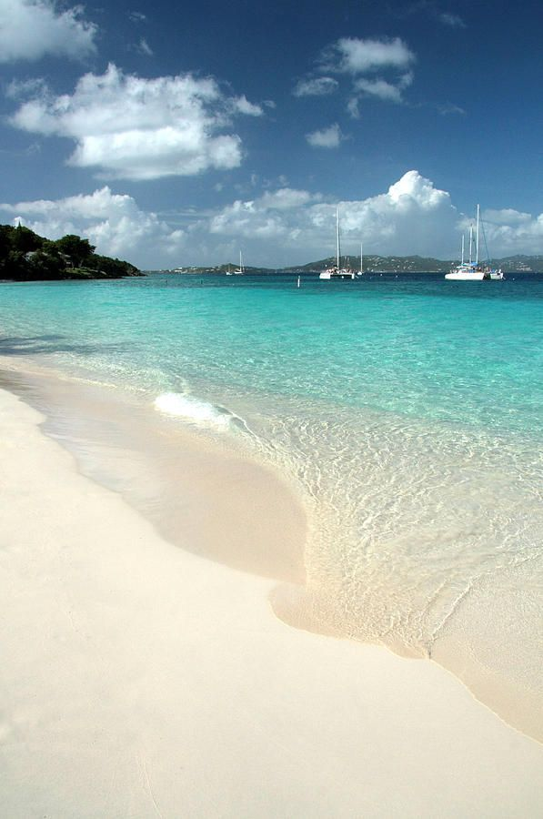 ✯ Honeymoon Beach - St. John, US Virgin Islands