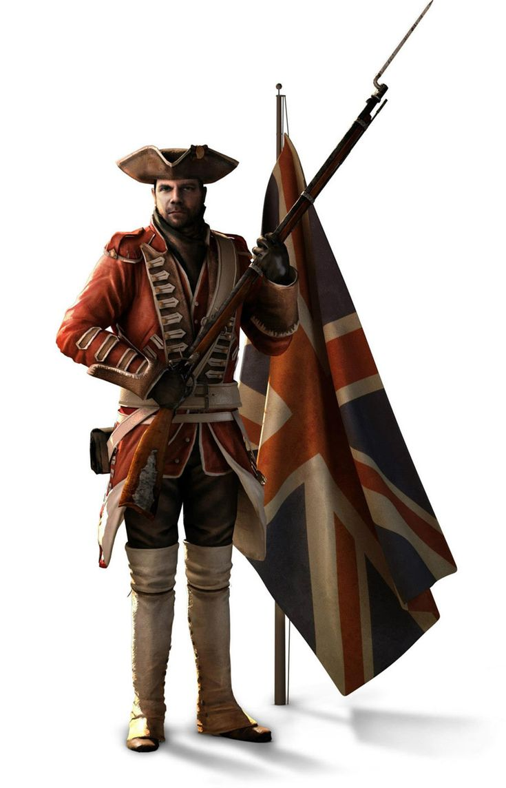 Assassin's Creed III Art & Pictures  British Army