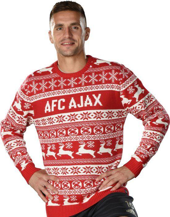 Kersttrui Utrecht.Ajax Kersttrui Nordic Christmas And Sports Christmas Sweaters