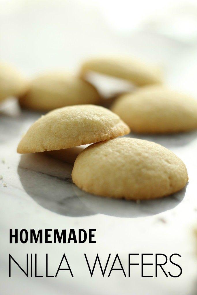 Homemade Nilla Wafers