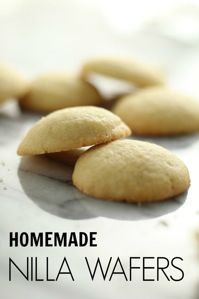 Homemade Nilla Wafers