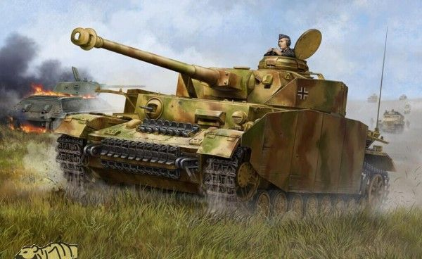 Trumpeter German Pzkpfw IV Ausf.H Medium Tank 1:16 Scale Plastic Model Kit - available from Hobbies, the UK's favourite online hobby store!