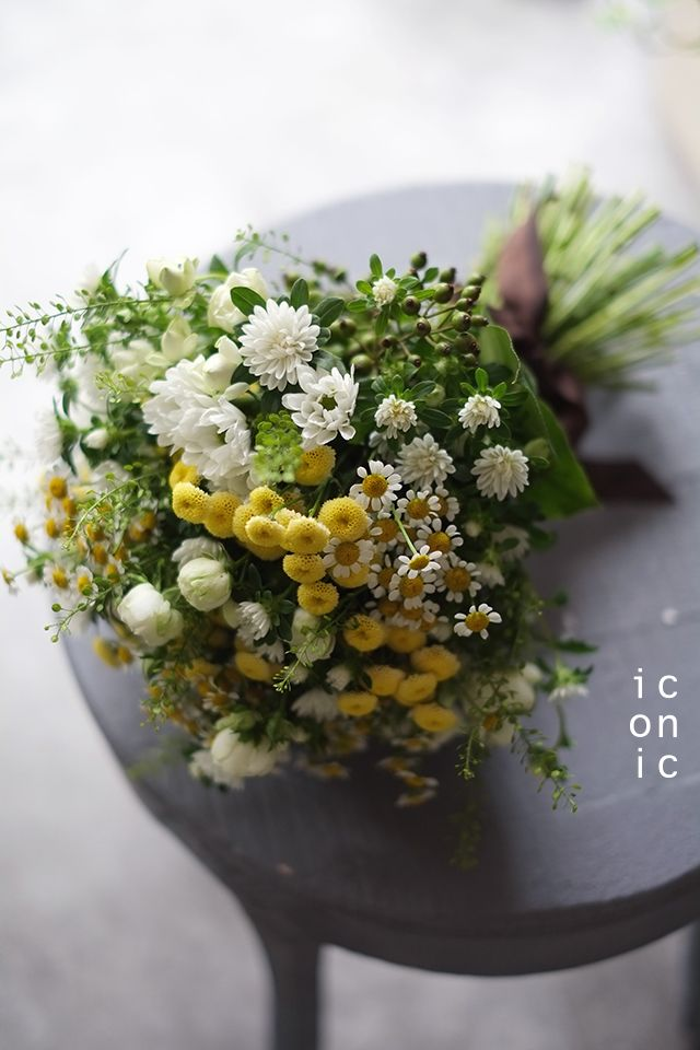 Matricaria,wedding bouquet,iconicflower