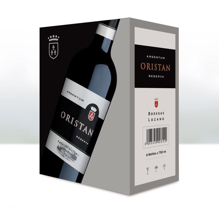 Caja 6 botellas Oristan.  Bodegas Lozano.