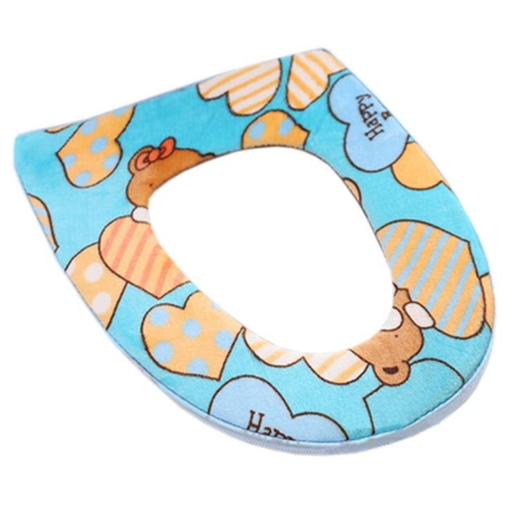 royal blue toilet seat. Stylish Toilet Lid Seat Cover Winter Warmer Soft Cushion Lovely Bear  Blue Best 25 toilet seats ideas on Pinterest
