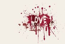 love text white background paint splatter 1600x1200 wallpaper.. Also nice as tattoo (different background colour)
