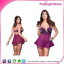 Newest Design Sexy Purple Bra Set Girls Xxx Photos Wholesale Babydoll Best Seller follow this link http://shopingayo.space