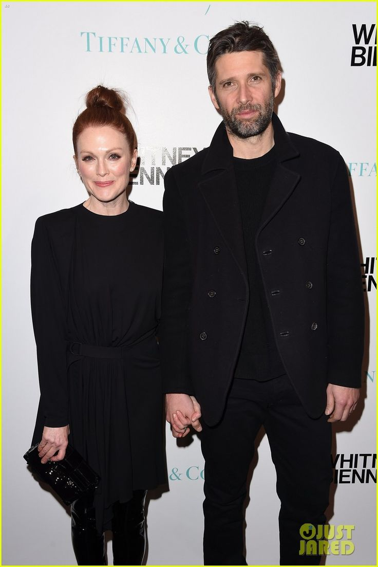 Julianne Moore & Husband Bart Freundlich Couple Up at Tiffany & Co. Event in NYC