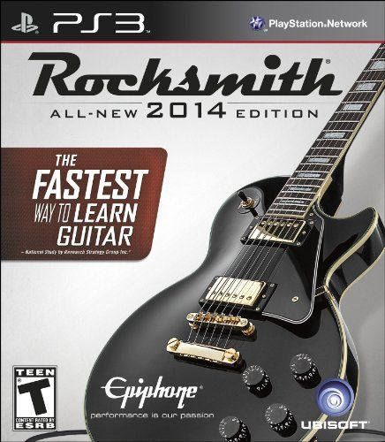 Just came across this ▂ ▃ ▅ ▆ █ Click Here Rocksmith 2014 Edition - Playstation 3 (Cable Included)