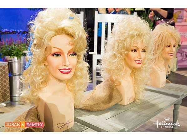 Dolly Parton tells the story about her iconic wigs