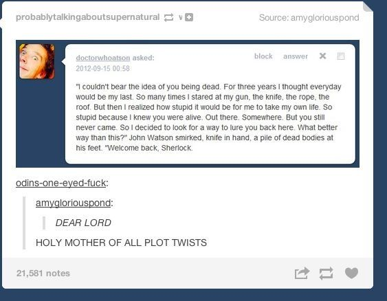Wtf!!!! Oh my god!! No no no. Plot twist that is both heartwrenching and slightly intriguing was not needed!
