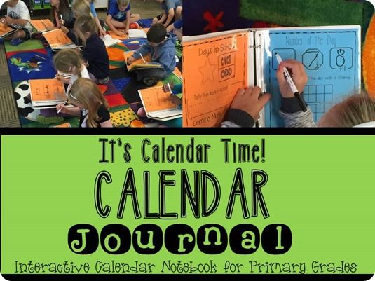 You know how BORING calendar time can be.  But this idea?  INGENIOUS.  Students have their own binders.  Math skills - check.  Reading skills - check!  Science skills - check.  15 minutes - BOOM!!!  Great way to begin the day