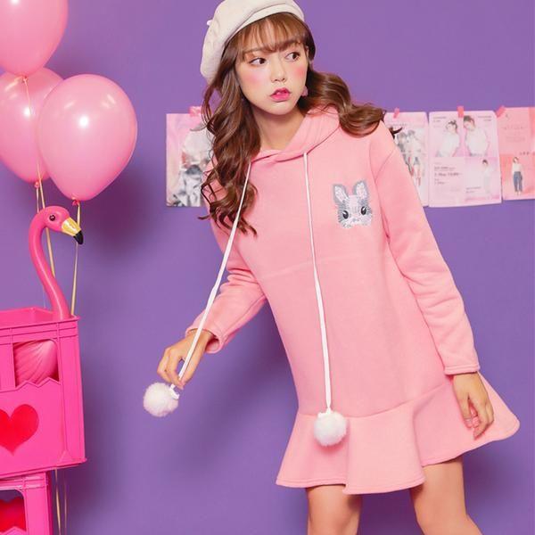 Kawaii Harajuku Hoodie with Bunny Ears – OhMyKawaiiShop.com