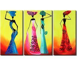 Cuadro decorativo Africanas de moda