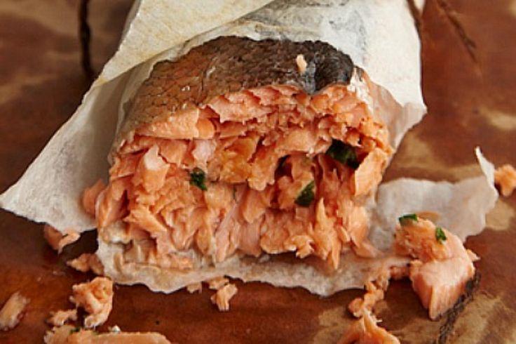 Salmon Roulade.