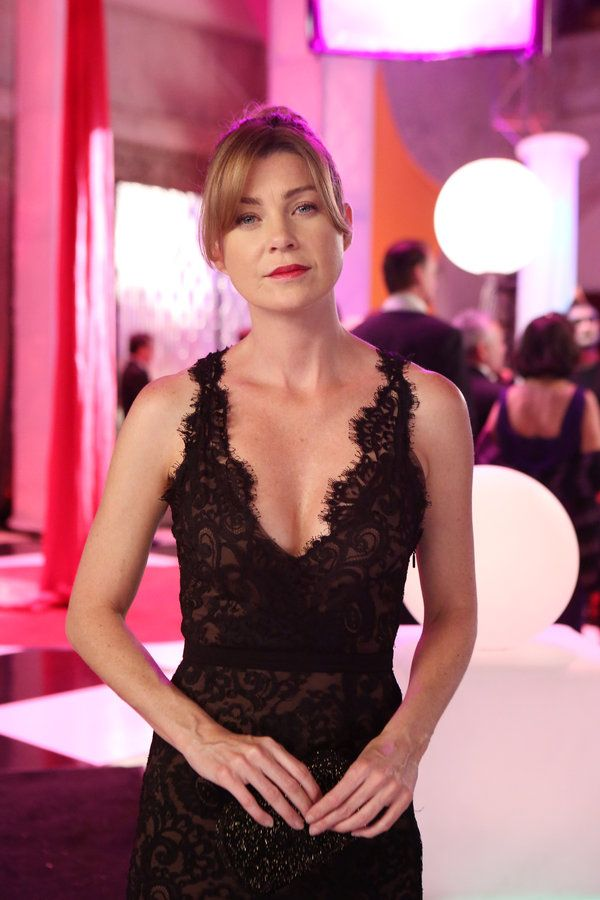 Mer has another amazing gown :) - Grey's Anatomy Episode 1004: Puttin' on the Ritz - Ellen Pompeo