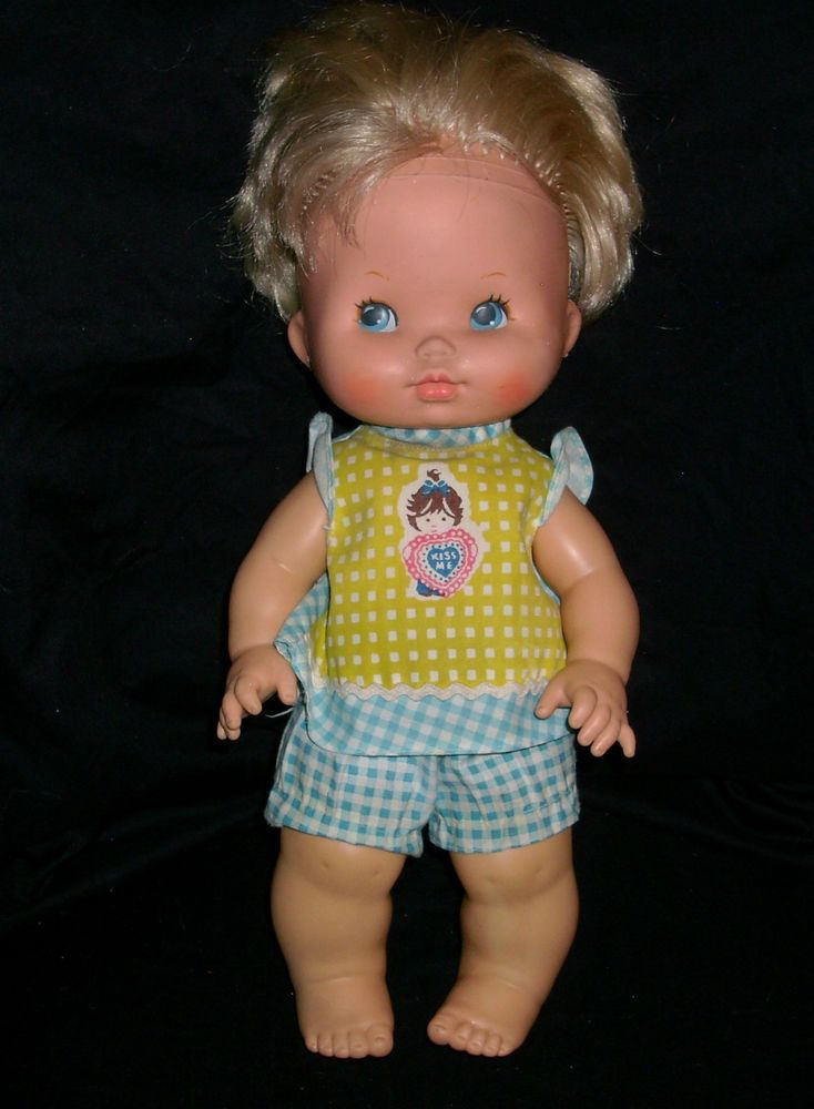 Vintage 1976 Kiss Me Baby Doll Loved That Doll You