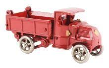 Cast Iron Hubley Mack Dump Truck.