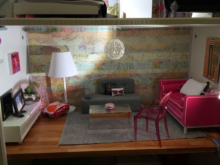 Barbie lounge featuring Jonathan Adler, Miniio and Boomini