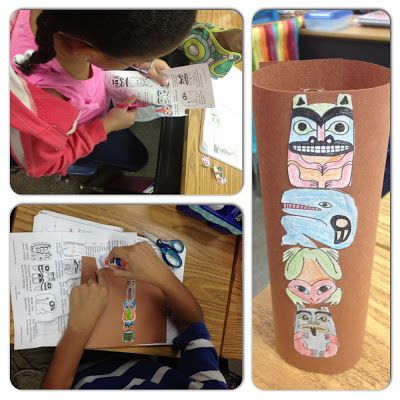 Tried It Tuesday: Interactive Notes and Totem Poles!