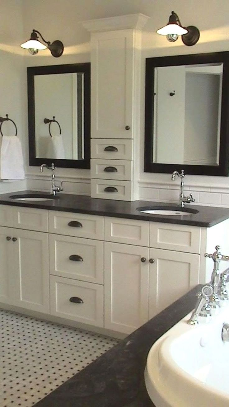 Double Sinks Bathroom Vanities Will Be Fastened To Swimsuit Many Inside Kinds Including Bathroom Vanity Designs Bathroom Remodel Master Double Vanity Bathroom