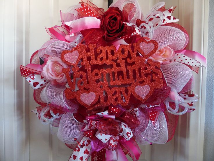 26 Best Valentines Day Wreaths By SwayMeVegas Images On