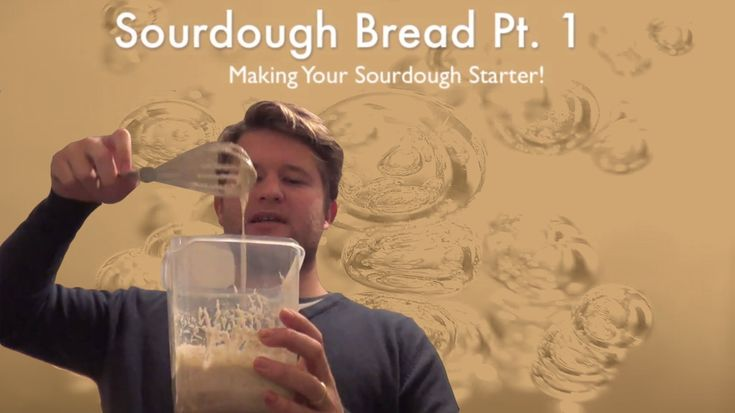 Homemade Sourdough Bread Pt1: Making your Sourdough Starter
