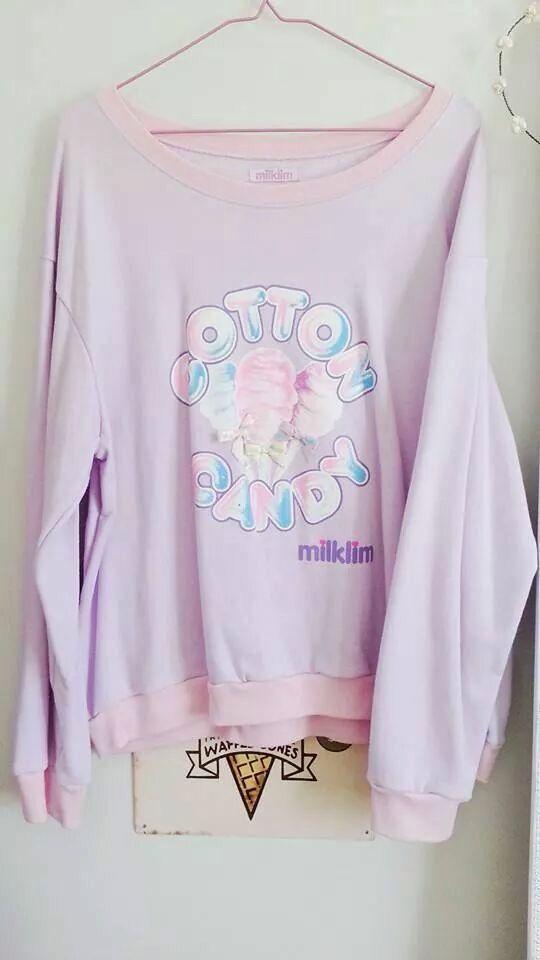 Milklim cotton candy sweater