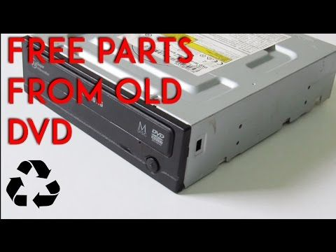 How to Salvage a DVD Drive for Free Parts: 7 Steps (with Pictures)
