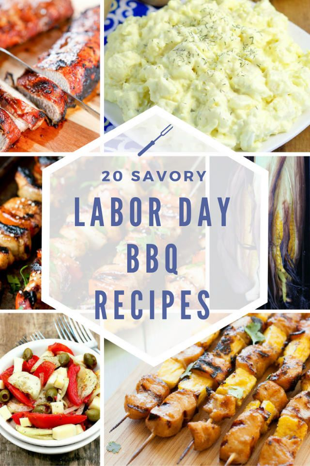 20 Labor Day Weekend BBQ Recipe Ideas