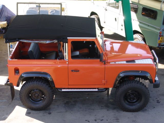 Land Rover Defender V8. 4.6l