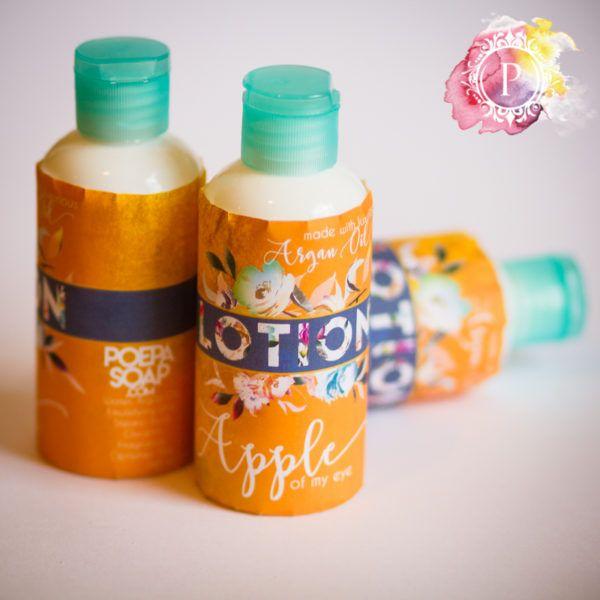 Apple [Argan Oil Lotion]   Poepa Soap