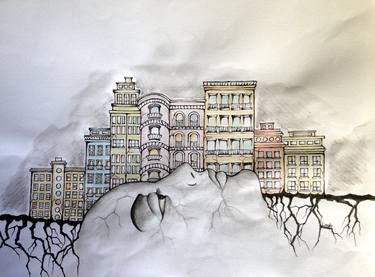 "Saatchi Art Artist Leyla Özlüoğlu; Painting, ""transformation"" #art #SaatchiArt #drawing #painting #watercolor #ink #saatchiartilove #artoftheday"