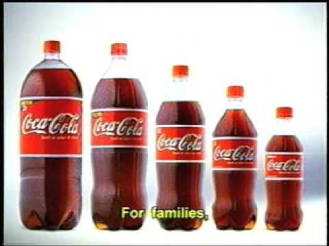 Para todos - Coca Cola Commercial - In Spanish with English subtitles. Coke bottles appear as the voice talks about who Coke is for - everyone!