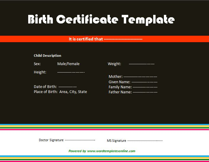 17 Best ideas about Birth Certificate Online – Online Birth Certificate Maker