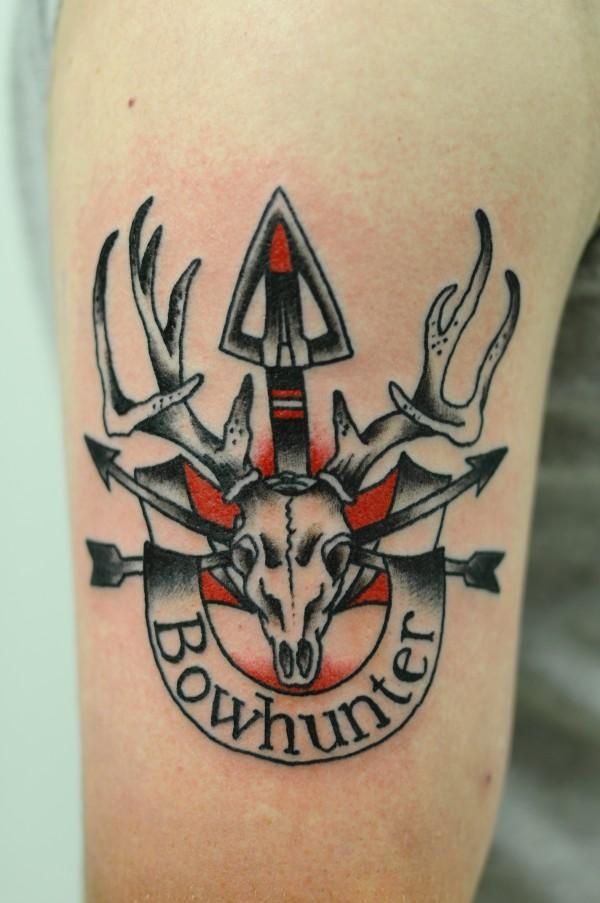 Awesome whitetail deer tattoos deer tattoo deer and tattoos and