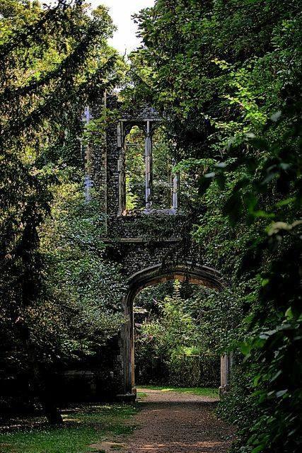 Ancient Ruins, Scotland.