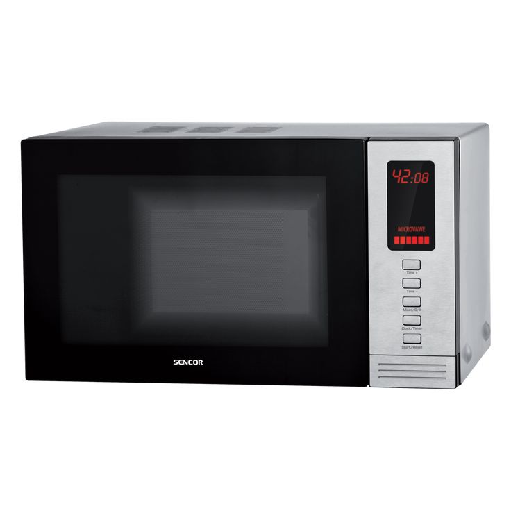 Microwave Oven SMW 6420DS - Stainless steel interior - Digital controls - 5 microwave power levels