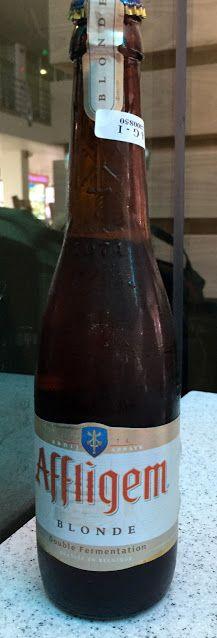 Affligem Blond, Brouwerij De Smedt/ Brouwerij Affligem brewery, Belgium - bought at the Ho Chi Minh City Airport, Vietnam
