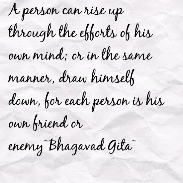 The Yoga of Meditation~Bhagavad Gita..