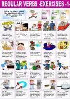 Image result for regular verbs